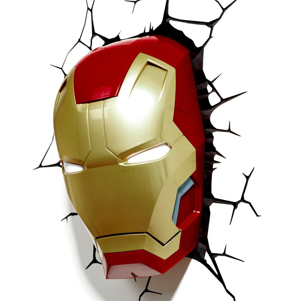 Marvel 3d Lights - Iron Man 3 Face | Buy Online in South Africa ...