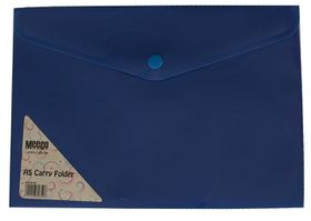 Meeco A5 Creative Colour Carry Folder - Blue