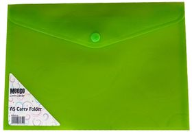 Meeco A5 Creative Colour Carry Folder - Green