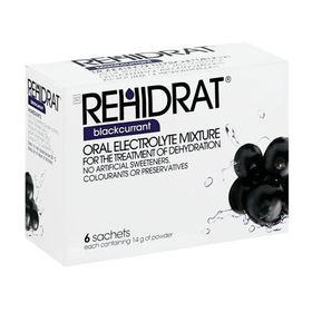 Rehidrat Blackcurrant - Pack of 6
