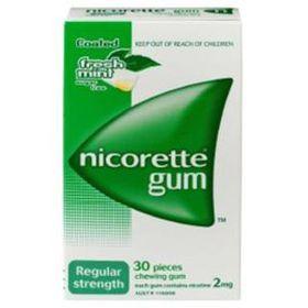 Nicorette Gum 2mg Mint - Pack of 30