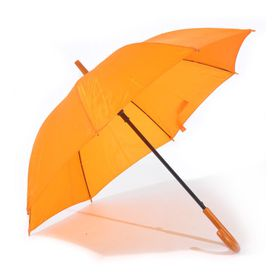 St Umbrellas - Hook Handle Umbrella - Orange