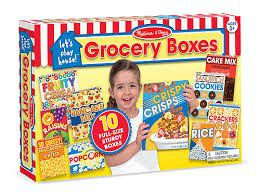 Melissa & Doug Grocery Boxes