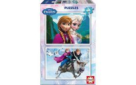 Educa Frozen Cardboard Puzzle 2x - 48 Piece