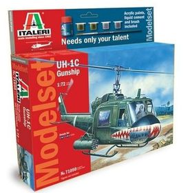 Italeri 1/72 UH-1C Gunship - Model Set