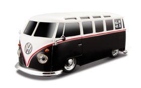 Maisto 1/24 R/C Volkswagen Samba Van - Black