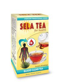 Sela Blood Clean Tea - Pack of 20's