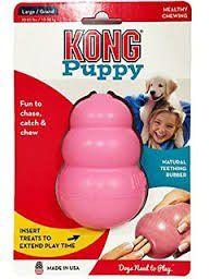 Kong -  Puppy - Large - Pink