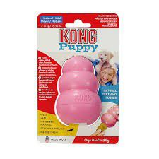 Kong -  Puppy Toy - Small - Pink