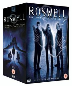 Roswell Season 1-3 Box Set (17 Discs) - (parallel import)