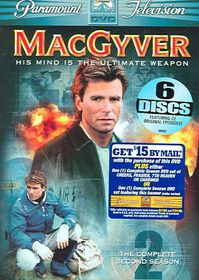 Macgyver:Complete Second Season - (Region 1 Import DVD)