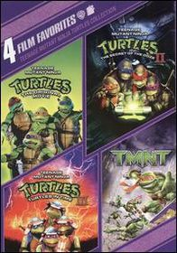 4 Film Favorites:Teenage Mutant Ninja - (Region 1 Import DVD)