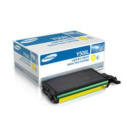 Samsung CLT-Y508L Yellow Laser Toner Cartridge