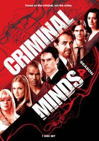 Criminal Minds Season 4 (DVD)