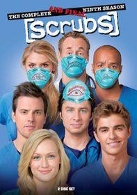 Scrubs Season 9 (DVD)