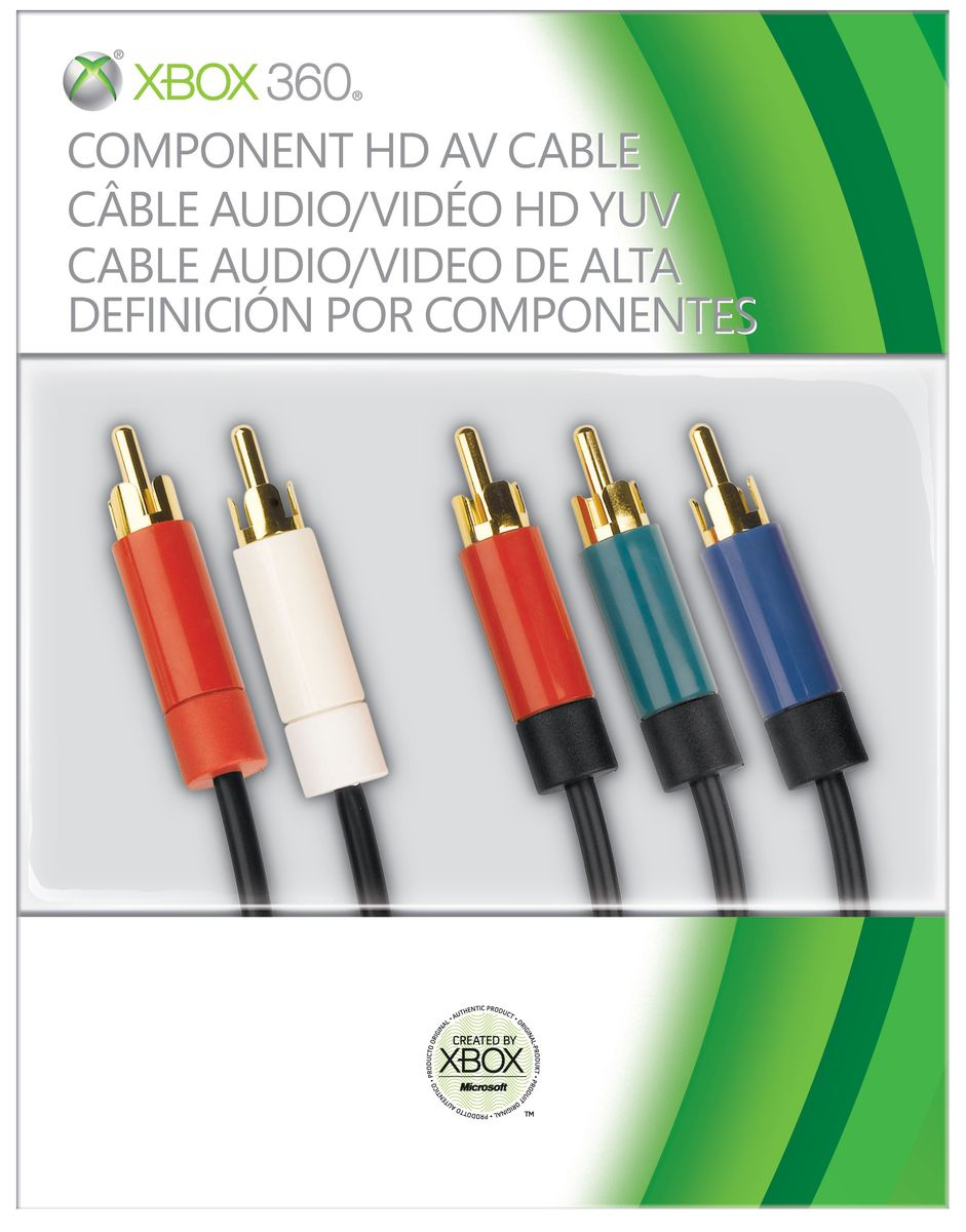Xbox 360 Component Hd Av Cable (xbox 360) | Buy Online in South ...
