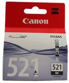 Canon CLI-521BLK Black Single Ink Cartridge