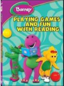 Barney: Playing Games and Fun with Reading (DVD)