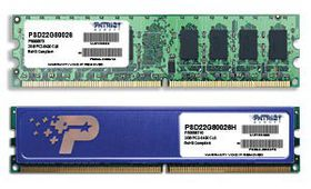 Patriot - 2GB DDR2 PC2-6400 800MHz