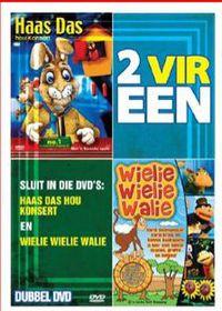 Louise Smit - 2 vir een : Wielie Walie & Haas Das hou konsert (2 DVD)