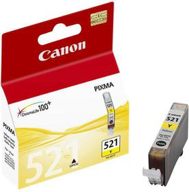 Canon CLI-521Y Yellow Single Ink Cartridge