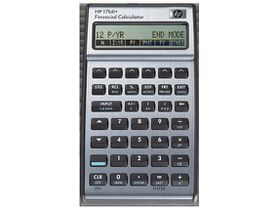 HP 17BII+ Business Calculator (Algebraic or RPN)