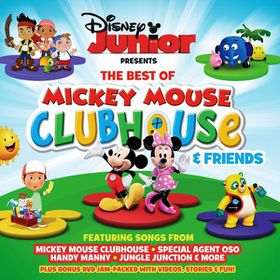 Children - Disney Junior - Best Of Mickey Mouse Clubhouse & Friends (CD + DVD)