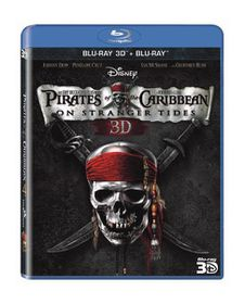Pirates of the Caribbean: On Stranger Tides (2011)(3D & 2D Blu Ray)