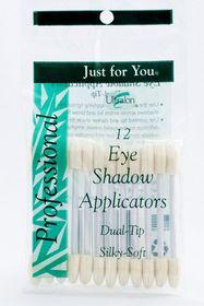 Dicon Eye Shadow Applicators White Double Head 12'S
