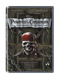 Pirates of the Caribbean 1-4 Box Set (DVD)