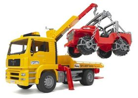 Bruder - MAN TGA Breakdown Truck With Vehicle