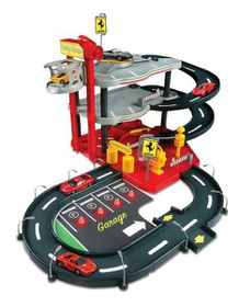 Bburago - Ferrari 1:43 Race & Play Parking Garage
