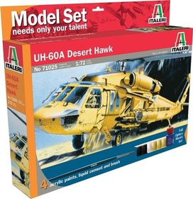 Italeri - 1/72 UH-60 Desert Hawk Model-set