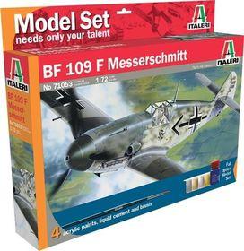 Italeri - 1/72 053 BF-109 Messerschmitt Model-set