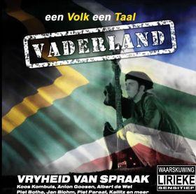 Vaderland - Verskeie (CD)