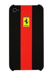 Ferrari Stradale iPhone 4 & 4s Rubber Hardcase Red
