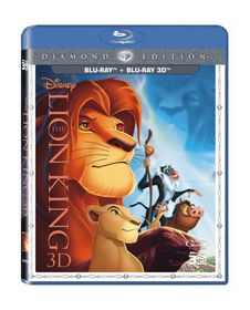 The Lion King (2D & 3D Blu Ray Superset)