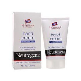 Neutrogena Hand Cream Fragrance Free 56Gg