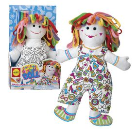 Alex Toys - Color and Cuddle Washable Doll