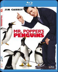 Mr. Popper's Penguins (2011)(Blu Ray)