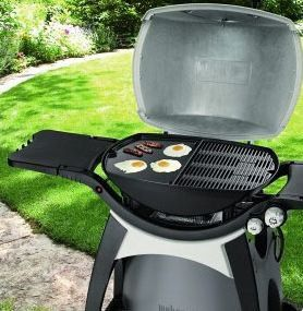 weber q 300 griddle fits weber q300 gas grills 45cm x 33cm x 3cm buy online in south. Black Bedroom Furniture Sets. Home Design Ideas