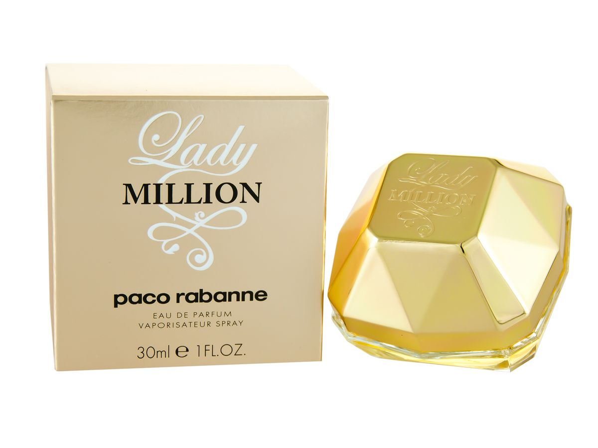 paco rabanne lady million edp 30ml for her parallel. Black Bedroom Furniture Sets. Home Design Ideas