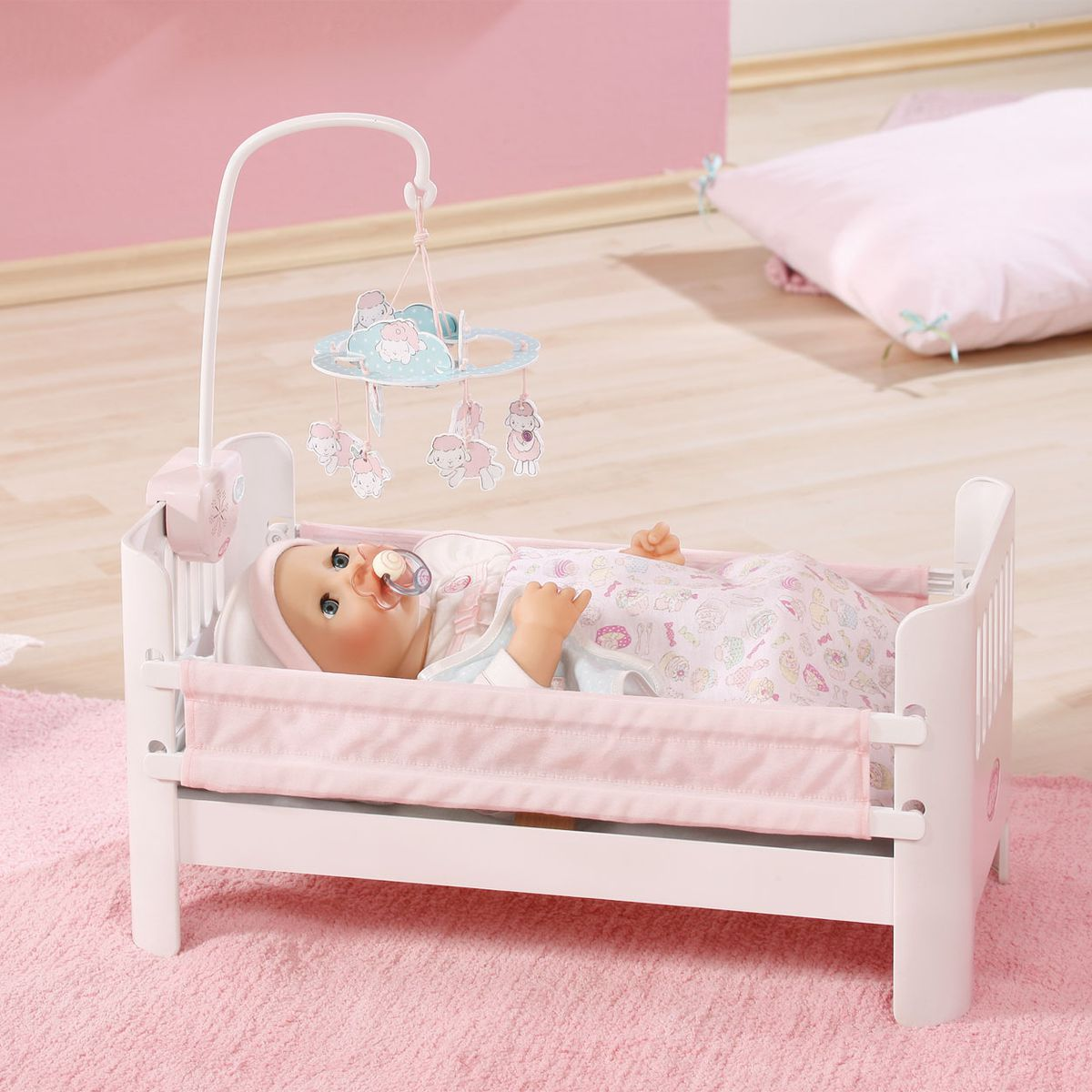 baby annabell bed with lullaby buy online in south africa. Black Bedroom Furniture Sets. Home Design Ideas