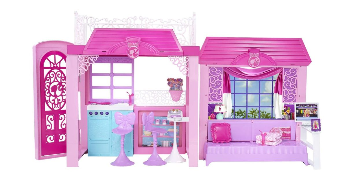 Barbie Glam Vacation Doll House Set Pink Buy Online In South Africa Takealot Com