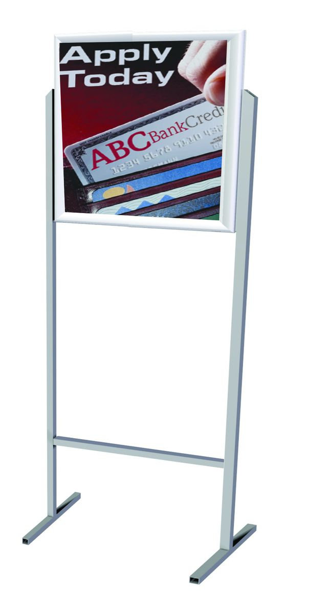 Parrot Products Parrot Stand Poster Frame Steel Double Sided - A2 ...