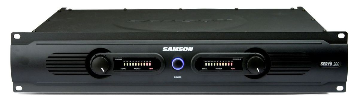 Sams Credit Login >> Samson Audio Servo 200 Stereo Power Amplifier - 200 Watt Black | Buy Online in South Africa ...