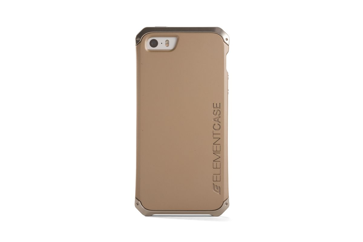 iphone 5s gold case. element solace au case for apple iphone 5 \u0026 5s - gold iphone o
