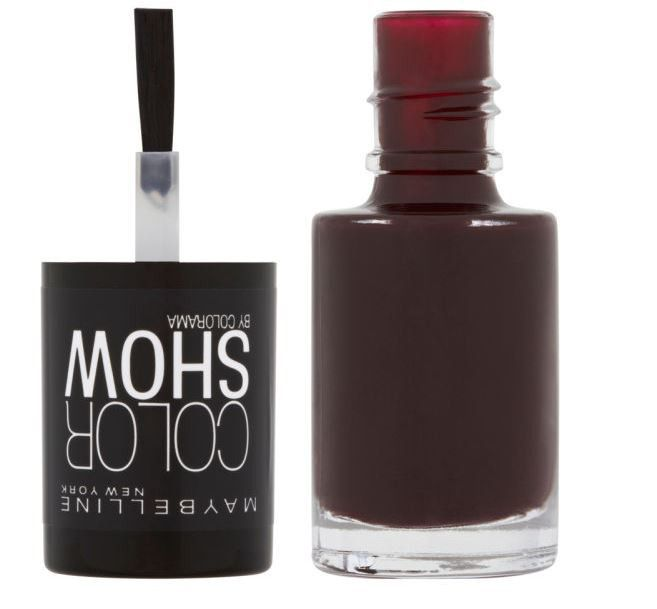 Maybelline Colour Show Nail Color - Burgundy Kiss | Buy Online in ...