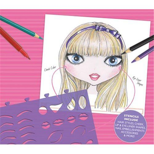 Fashion Angels Make Up And Hair Design Sketch Portfolio