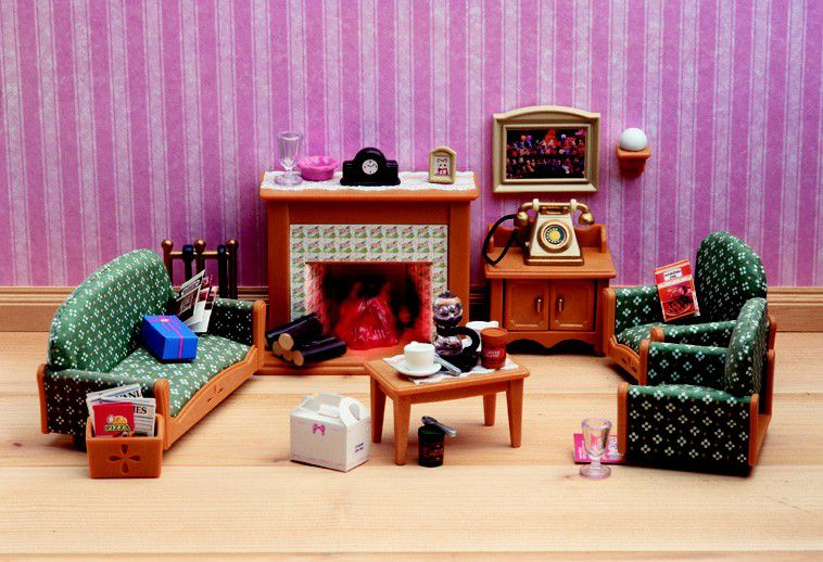 sylvanian families sylvanian family delux living room set buy online in south africa. Black Bedroom Furniture Sets. Home Design Ideas